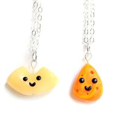 Macaroni & Cheese BFF Necklaces