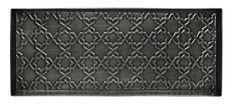 Home Furnishings by Larry Traverso Tile Pattern Metal Boot Tray, Zinc Finish, 30 by 13-Inches HOME FURNISHINGS BY LARRY TRAVERSO http://www.amazon.com/dp/B010MC7ZFI/ref=cm_sw_r_pi_dp_twAQwb1B25CJ1