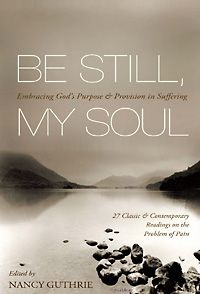 A book about suffering, which includes authors like Tim Keller, R.C. Sproul, Joni E. Tada, John Calvin!