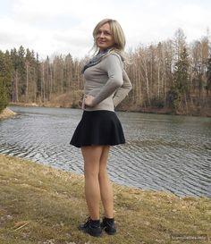 Find Friends, Crossdressers, Transgender, Skater Skirt, The Outsiders, Natural, Lady, Check, Skirts