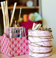 20 Mod Podge Recycled Craft Ideas