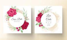 Beautiful Wedding Invitations, Wedding Invitation Cards, Printable Planner, Free Printables, Blooming Rose, Peony Flower, Free Vector Art, Peonies, Wedding Flowers