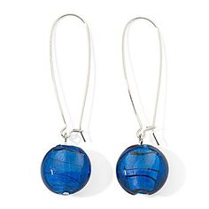 Blue Drop Earrings!
