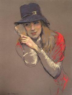 Katya Gridneva Катя Гриднева 1965 | Ukrainian Figurative Pastel painter
