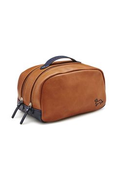 Image for Mens Oxford Tan Wash Bag from Peter Alexander