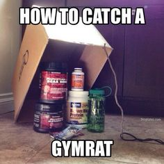 From a fan. Looks like a foolproof plan. TAG your fellow #gymrats to share a laugh. #OnaQuest