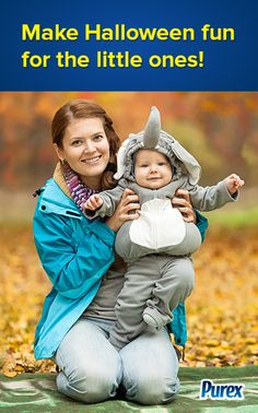Make Halloween fun for toddlers! - by Purex