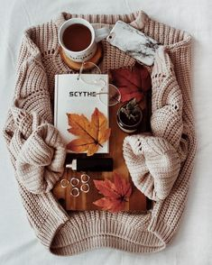Autumn Aesthetic likeCable Knit Sweaters are my Everything. Autumn Photography, Book Photography, Autumn Aesthetic Photography, Autumn Inspiration, Mode Inspiration, Autumn Cozy, Fall Winter, Autumn Coffee, Autumn Feeling