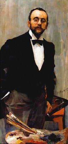 Филипп Малявин «Портрет художника И. Э. Грабаря» 1895