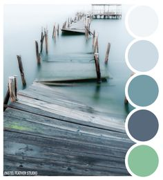 Pastel Feather Studio:   PIER TONES - color palette    ►more find here: pastefeatherstudio.blogspot.com