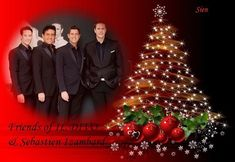 Have a great Christmas Eve @sien_il_divo thank you for sharing!  #wecameheretolove #sebsoloalbum #kingdomcome #up #teamseb #sebdivo #sifcofficial #ildivofansforcharity #ildivo #sebastien #izambard #sebastienizambard #singer #band #musician #music #composer #producer #artist #charityambassador #instagood #instamusic #carlosmarin #davidmiller #ursbuhler #castlesandcountrytour #timelesstour
