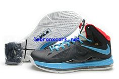b96ab9afe326 Lebron New Shoes 10 Dark Grey Red Sky Blue 541100 001 Air Jordan