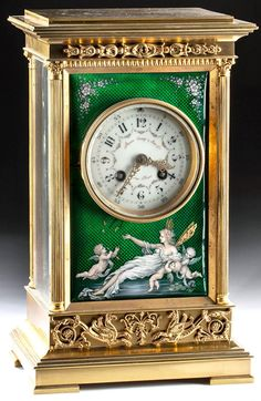 Radios, French Clock, Carriage Clocks, Base Moulding, Antique Clocks, Cornice, Malachite, Appliques, Scenery