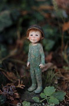 One of a kind miniature artdoll Pinu 1:12th by Tatjana by chopoli