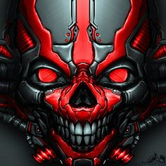MechSkull by noistromo on DeviantArt