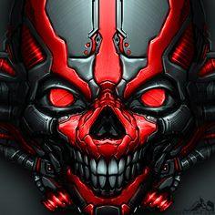 MechSkull by noistromo on DeviantArt