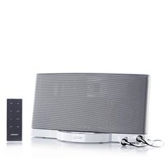 Bose SoundDock II Digital Music System and Bose IE2 Headphones - I love music and as a breakfast radio DJ, I start my morning every day with two hours of tunes. Having this at home means I can end my day with music too. And it charges my iPhone – perfect! Lisa Snowdon