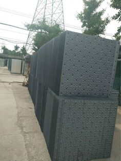 Shinwa cooling tower fills, 950*950mm. For more information, pls contact: rita@sintafrp.cn