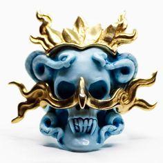 BLUE ARUM RING