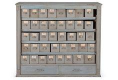 Antique Pétanque Cabinet on OneKingsLane.com