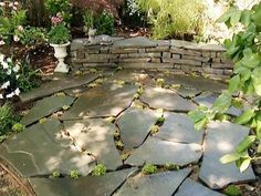 How to Build a Stone Accent Wall How to Build a Dry-Stacked Stone Accent Wall and Patio (from HGTV