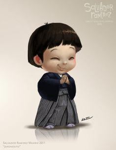 Cartoon Kid Character #kid #character
