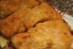 A vida em fotografia: Panados de frango no forno