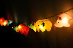 handmade hanging paper lamps - Google Search