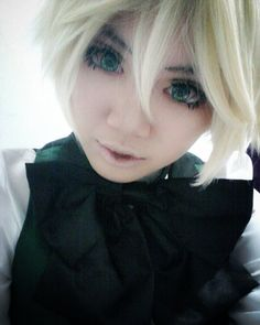 Happy birthday to Alois Trancyy!! X3  He's fabulous and I love him so much XD  Anyone else watch kuroshitsuji 2? OwO/  #alois #trancy #aloistrancy #trancymanor #earltrancy #borjuis #boy #birthday #bday #happybirthday #anime #manga #kuroshitsuji #kuroshitsuji2 #celebrate #cosplaydoll #cosplaymakeup #cosplay #cosplayer #bjdinspired #bjdmakeup #blonde #blueeyes #fabulous