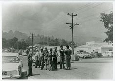 mtd0014 street view mt dandenong during 1962 bushfires.tif