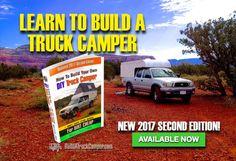 homemade truck camper book