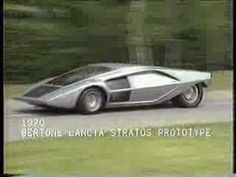 Incredibly cool Lancia Stratos Prototipo and cool Jean Michel Jarre music.