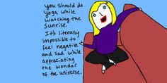 And, of course, no list of comics that capture the minutae of depression would be complete without the amazing work of Hyperbole And A Half creator Allie Brosh.