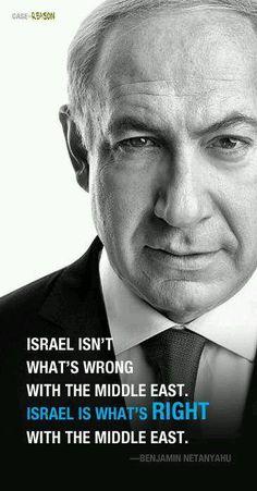 I support Bibi & Israel !!