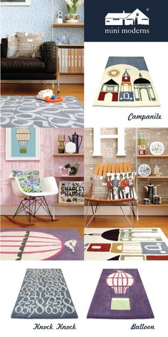 Curl Up In Comfort & Style With Mini Moderns Rugs