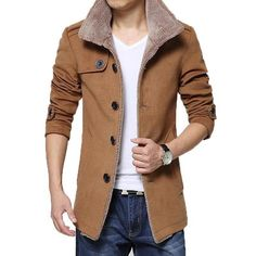 Take a look at my listing, folks👇 2015 New Arrival Trench Coat Men Casual Slim Fit Jacket Autumn Winter Fur Collar Windbreaker Jackets and Coats Men Plus Size 4XL http://classicmansworld.com/products/2015-new-arrival-trench-coat-men-casual-slim-fit-jacket-autumn-winter-fur-collar-windbreaker-jackets-and-coats-men-plus-size-4xl?utm_campaign=crowdfire&utm_content=crowdfire&utm_medium=social&utm_source=pinterest