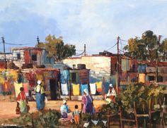 Mauro Chiarla - Township Scene