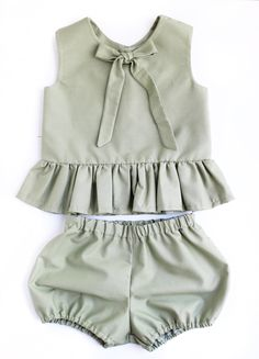 Separates - Esther and Jo smart cute baby clothes - Kindermode - Baby Ideas Baby Sleepers, Cute Baby Clothes, Baby Girl Clothes Summer, Sewing Baby Clothes, Handmade Baby Clothes, Baby Milestones, Baby Shop, Baby Love, Baby Baby