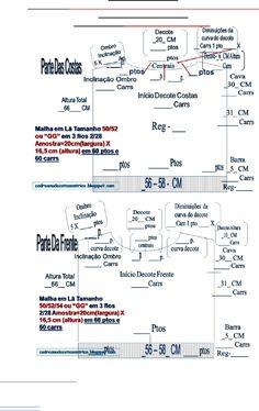 """69) Receita De Tricô Á Máquina - Tamanho 50..52 Ou GG-Calculos-Esquema Para Preencher-Pontos e Carreiras-Points and Careers - Size 50 .. 52 Or """"GG"""" PART 3 - Documents"""