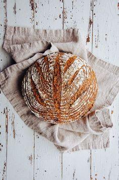 Hint of Vanilla: Multigrain Seeded Bread