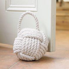 Natural Rope Door Stop Jute