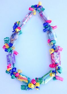Customized Candy Lei by SweetLeisCadoodles on Etsy