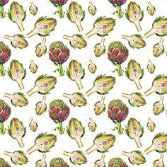 Playing around .  .  .  #repeatpattern #patterndesign #pattern #illustration #illustrationoftheday #illustratorsoninstagram #artichoke #plants #surfacepattern #surfacepatterndesign