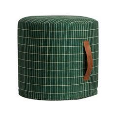 Sit on me pouf - Cylinder, Green