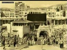 Masjid al-Haraam @ Makkah al-Mukarramah In 1880