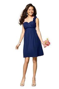$159 Alfred Angelo 7138 Bridesmaid Dress | Weddington Way  http://www.weddingtonway.com/products/alfred-angelo-7138-bridesmaid-dress?sku=aa-7138-navy