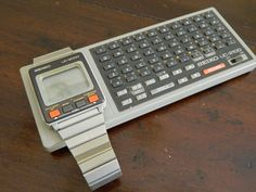 RARE Vintage 1980 NOS SEIKO UC-2100 keyboard for LCD Digital computer watch #Seiko