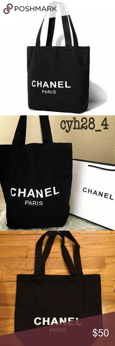 Chanel canvas tote New Canvas material chanel Makeup Lipstick