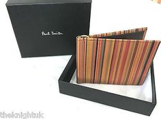 Paul #smith signature vintage multi-stripe #money clip #wallet,  View more on the LINK: 	http://www.zeppy.io/product/gb/2/272488969913/