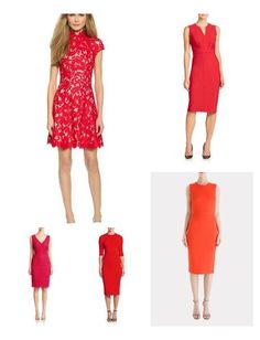 My favorite red dresses for the holiday season!